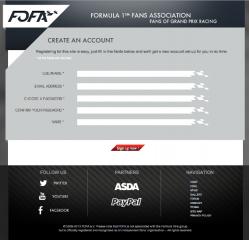 © Vincent Dubreuil - Projet de création d'un site de fans de Formule 1
